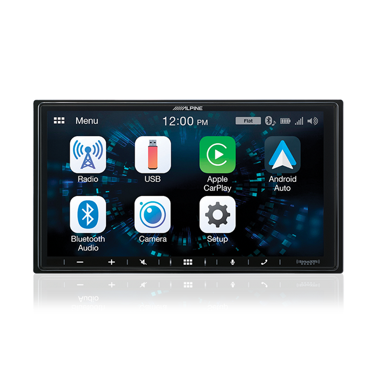 Alpine iLX-W650E - Apple CarPlay + Android Auto Receiver