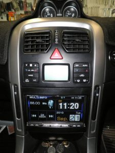 """Holden Commodore VY/VZ Custom In-Dash CD-Player Replacement Installation - An Installation of a Alpine 7"""" Touchscreen Head-Unit into a Holden Commodore VY/VZ, replacing the factory player."""