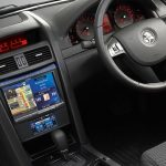 "Holden Commodore VE - Alpine 8"" Nav + touch heater controls"