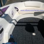 "Boat installation Alpine 10"" Sub + Type R Speakers + 5Ch Amp"