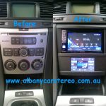 "Holden Commodore VE - Alpine 6.1"" + touch heater controls"