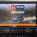 "Toyota Landcruiser 70 Series - Alpine 9"" With Hema Maps"